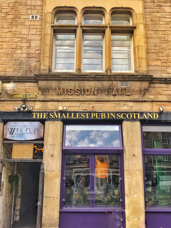 The Smallest Pub in Scotland
